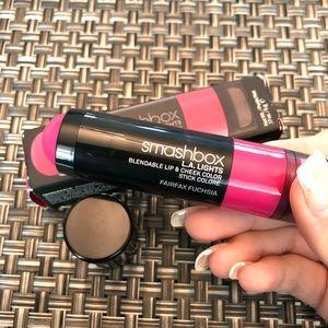 """smashbox """"fairfax fuchsia"""" lip & cheek color"""